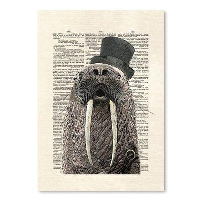 Americanflat 'Walrus' by Matt Dinniman Graphic Art