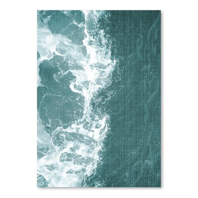 Americanflat 'Tropical Waters' by Lila and Lola Photographic Print
