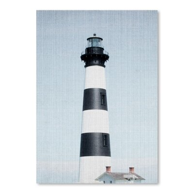 Americanflat 'Light House Striped' by Lila and Lola Photographic Print