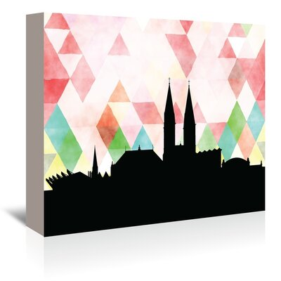 Americanflat 'Bremen Triangle' by Paper Finch Graphic Art Wrapped on Canvas
