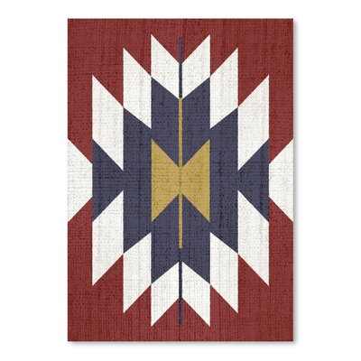 Americanflat 'Geometric Tribal' by Lila and Lola Graphic Art