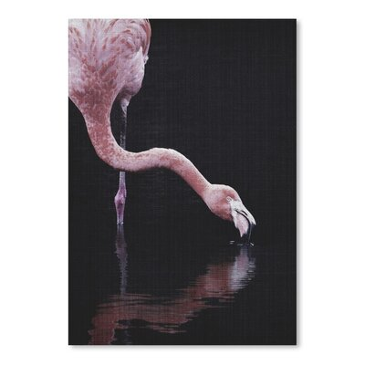 Americanflat 'Tropical Flamingo' by Lila and Lola Photographic Print