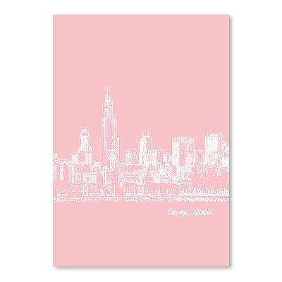 Americanflat 'Skyline Chicago 9' by Brooke Witt Graphic Art