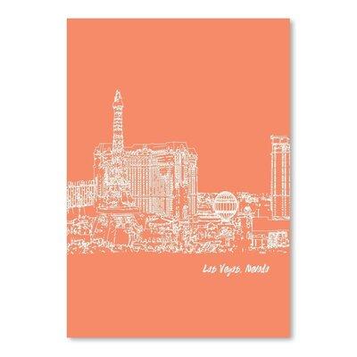 Americanflat 'Skyline Las Vegas 8' by Brooke Witt Graphic Art