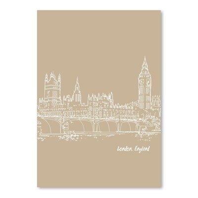 Americanflat 'Skyline London 7' by Brooke Witt Graphic Art