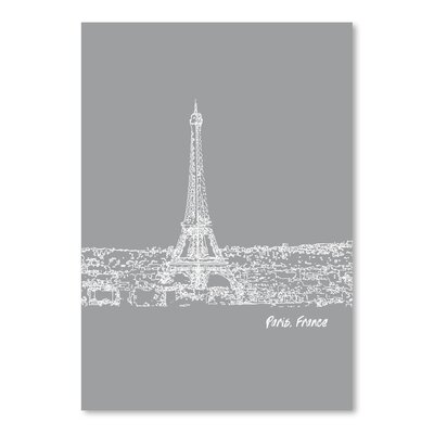 Americanflat 'Skyline Paris 2' by Brooke Witt Graphic Art