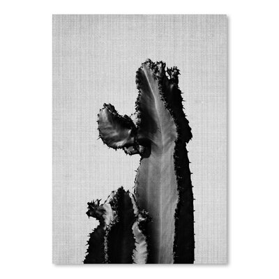 Americanflat Cactus on Grey 2' by Lila and Lola Graphic Art