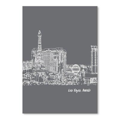 Americanflat 'Skyline Las Vegas 1' by Brooke Witt Graphic Art