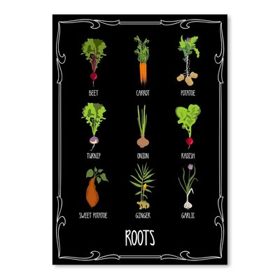Americanflat 'Garden Roots' by Brooke Witt Graphic Art