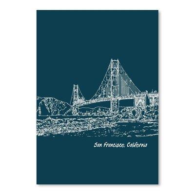 Americanflat 'Skyline San Francisco 3' by Brooke Witt Graphic Art