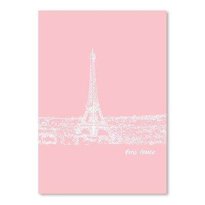 Americanflat 'Skyline Paris 9' by Brooke Witt Graphic Art