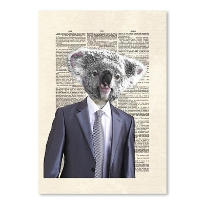 Americanflat 'Koalasuit' by Matt Dinniman Graphic Art