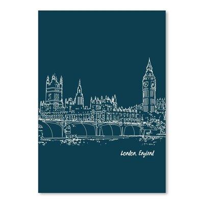 Americanflat 'Skyline London 3' by Brooke Witt Graphic Art