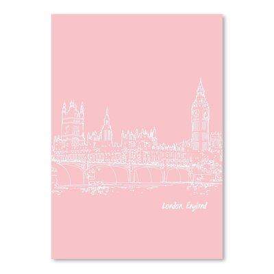 Americanflat 'Skyline London 9' by Brooke Witt Graphic Art