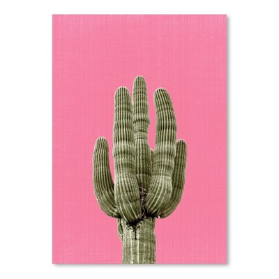 Americanflat 'Cactus' by Lila and Lola Photographic Print in Pink