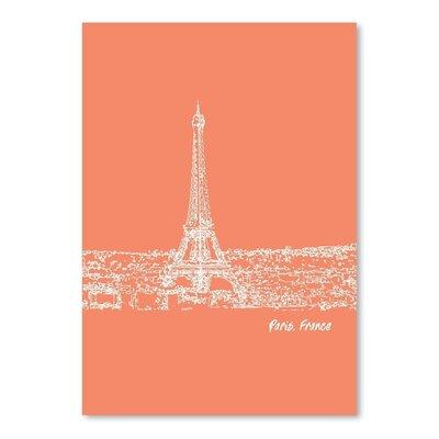 Americanflat 'Skyline Paris 8' by Brooke Witt Graphic Art