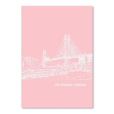 Americanflat 'Skyline San Francisco 9' by Brooke Witt Graphic Art