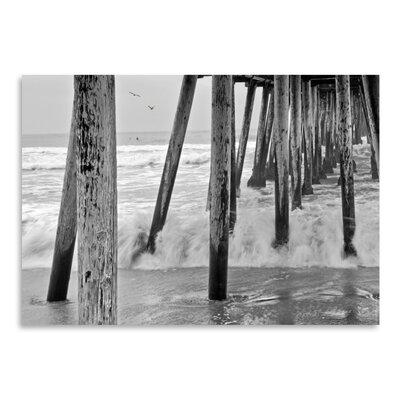 Americanflat 'Imperial Beach Pier #1' by Murray Bolesta Photographic Print