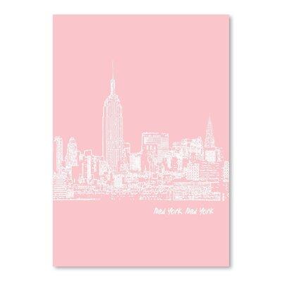 Americanflat 'Skyline New York City 9' by Brooke Witt Graphic Art