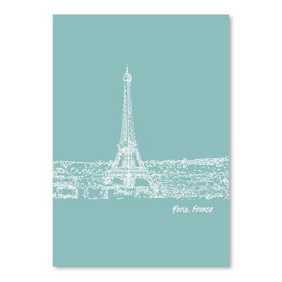 Americanflat 'Skyline Paris 5' by Brooke Witt Graphic Art