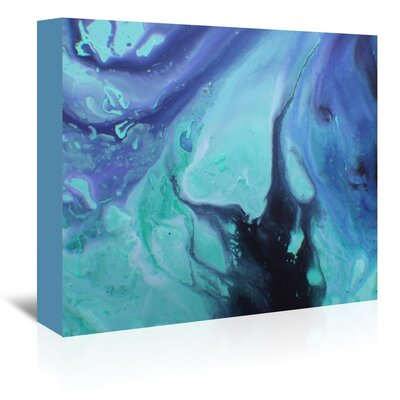 Americanflat 'Dark Marble' by Deb McNaughton Art Print Wrapped on Canvas