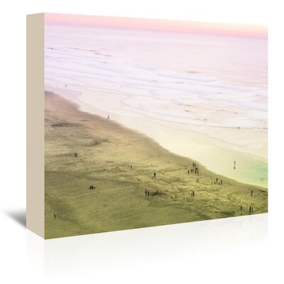 Americanflat 'Ocean-Beach' by Mina Teslaru Photographic Print Wrapped on Canvas