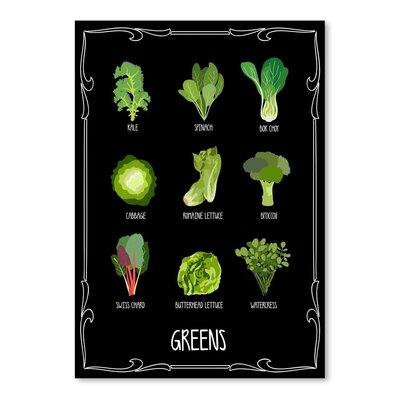 Americanflat 'Garden Greens' by Brooke Witt Graphic Art