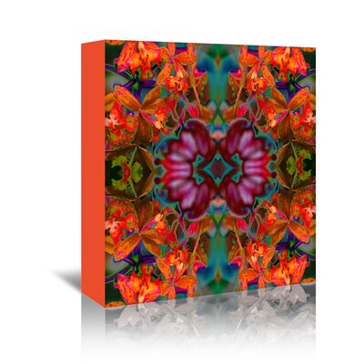 Americanflat 'Yellow Orchids 2' by Rose Anne Colavito Graphic Art Wrapped on Canvas