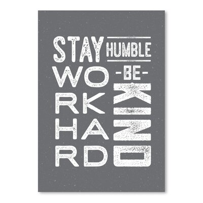 Americanflat 'Type Humble and Kind' by Brooke Witt Typography