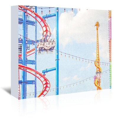 Americanflat 'Ride-The-Sky' by Mina Teslaru Photographic Print Wrapped on Canvas