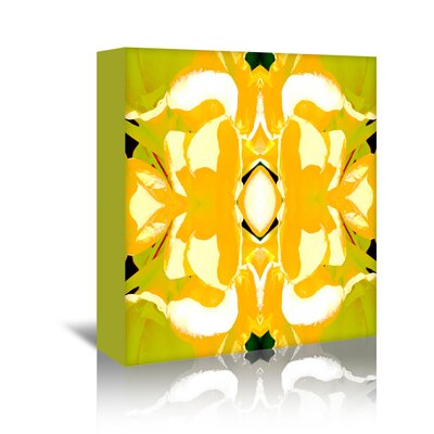 Americanflat 'Lemon Canna2' by Rose Anne Colavito Graphic Art Wrapped on Canvas