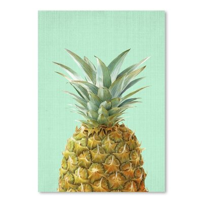 Americanflat 'Peek a Boo Pineapple Print' by Lila and Lola Photographic Print