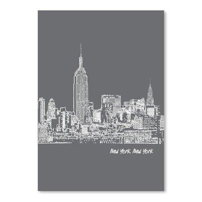 Americanflat 'Skyline New York City 1' by Brooke Witt Graphic Art