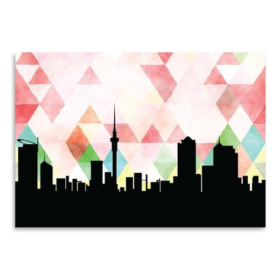 Americanflat 'Auckland Triangle' by Paper Finch Graphic Art