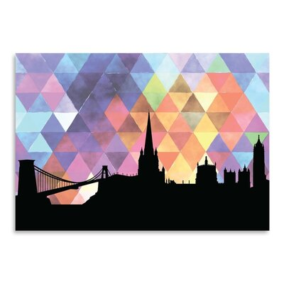 Americanflat 'Bristol Triangle' by Paper Finch Graphic Art