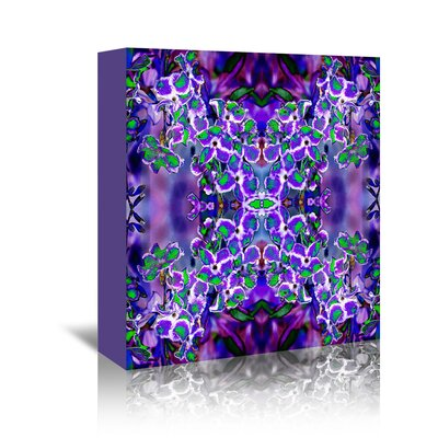Americanflat 'Violet stars3' by Rose Anne Colavito Graphic Art Wrapped on Canvas