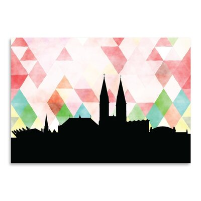 Americanflat 'Bremen Triangle' by Paper Finch Graphic Art
