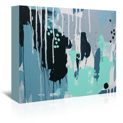 Americanflat 'Drips' by Deb McNaughton Art Print Wrapped on Canvas