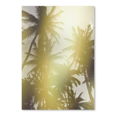Americanflat 'Trees in Paradise' by Lila and Lola Photographic Print