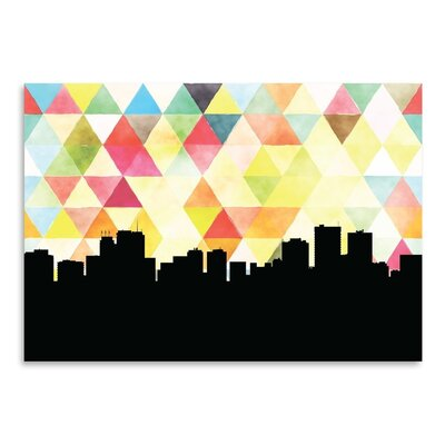 Americanflat 'Anchorage Triangle' by Paper Finch Graphic Art