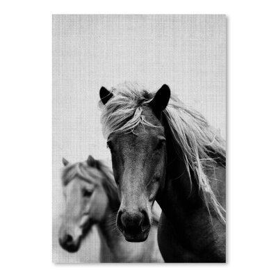 Americanflat 'Wild Horses 1' by Lila and Lola Photographic Print