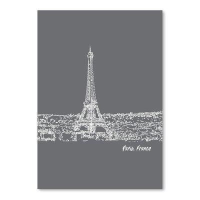 Americanflat 'Skyline Paris 1' by Brooke Witt Graphic Art
