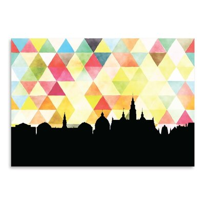 Americanflat 'Copenhagen Triangle' by PaperFinch Graphic Art