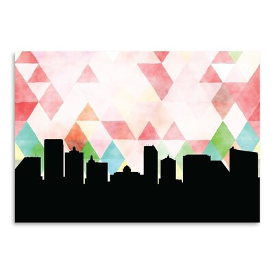 Americanflat 'Atlantic City Triangle' by Paper Finch Graphic Art