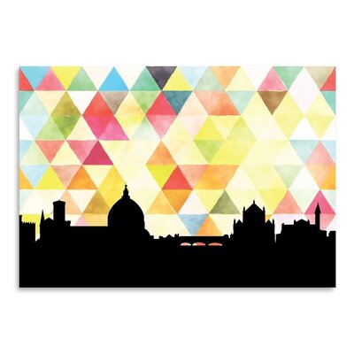Americanflat 'Florence Triangle' by PaperFinch Graphic Art