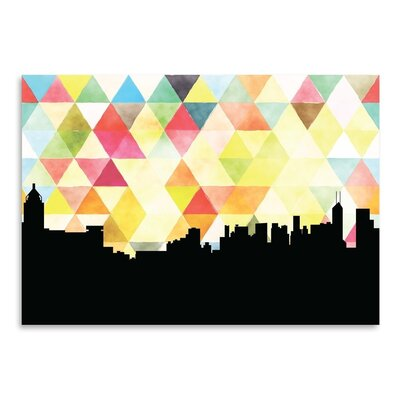 Americanflat 'HongKong_Triangle' by PaperFinch Graphic Art