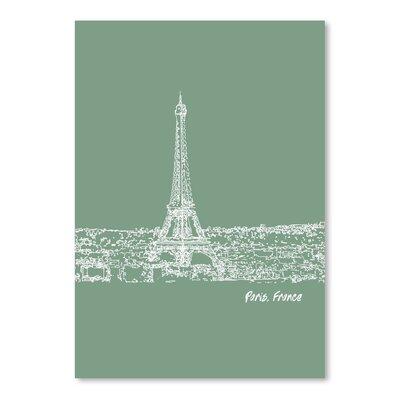 Americanflat 'Skyline Paris 6' by Brooke Witt Graphic Art