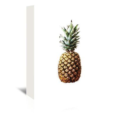 Americanflat 'Pineapple Photo Up To' by Melinda Wood Photographic Print Wrapped on Canvas