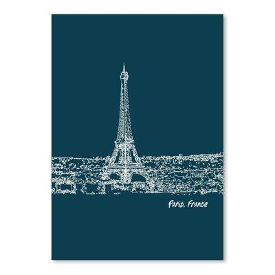 Americanflat 'Skyline Paris 3' by Brooke Witt Graphic Art