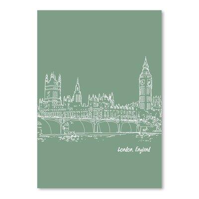 Americanflat 'Skyline London 6' by Brooke Witt Graphic Art